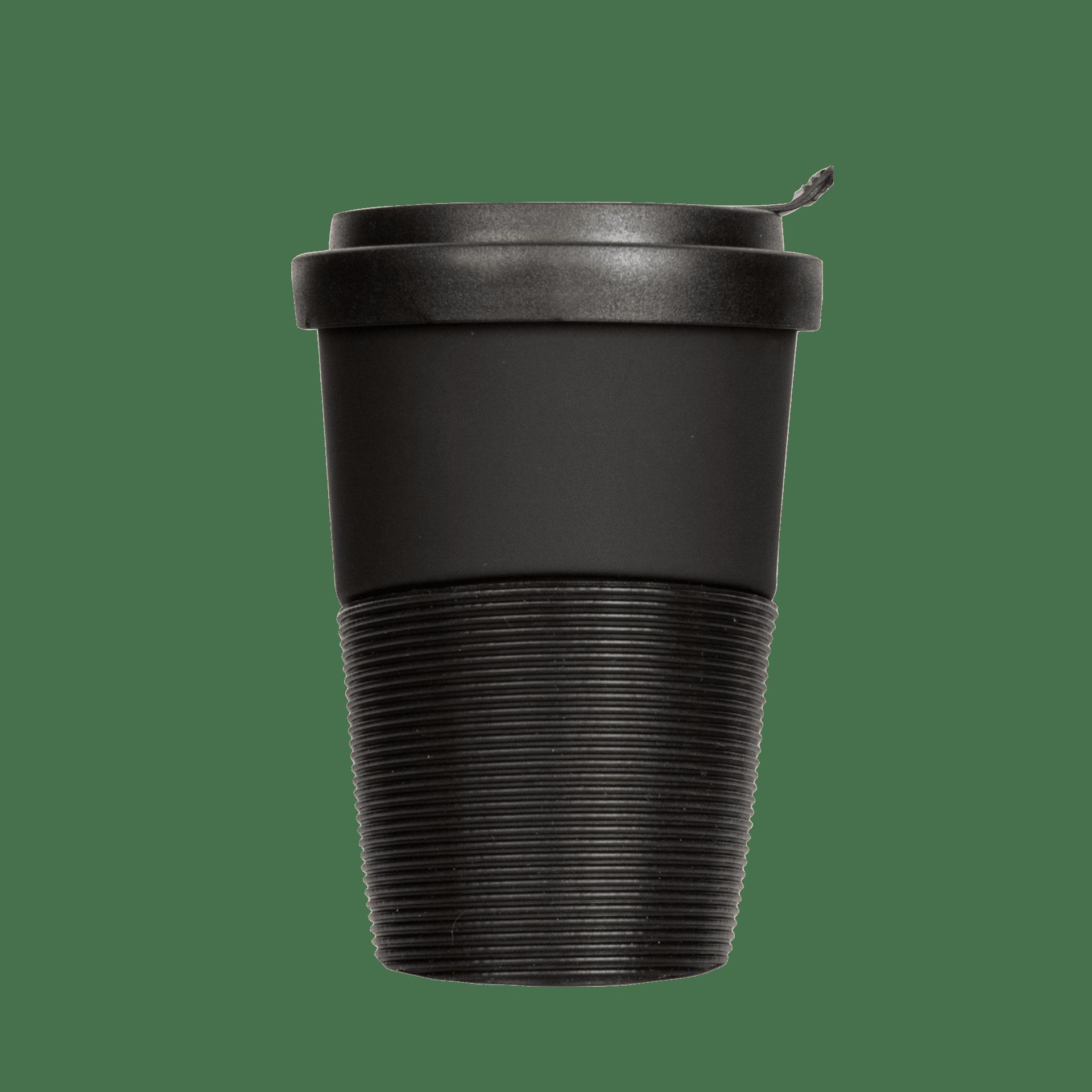 Coffee2Go Becher Wave, Diamond Black, 350 ml