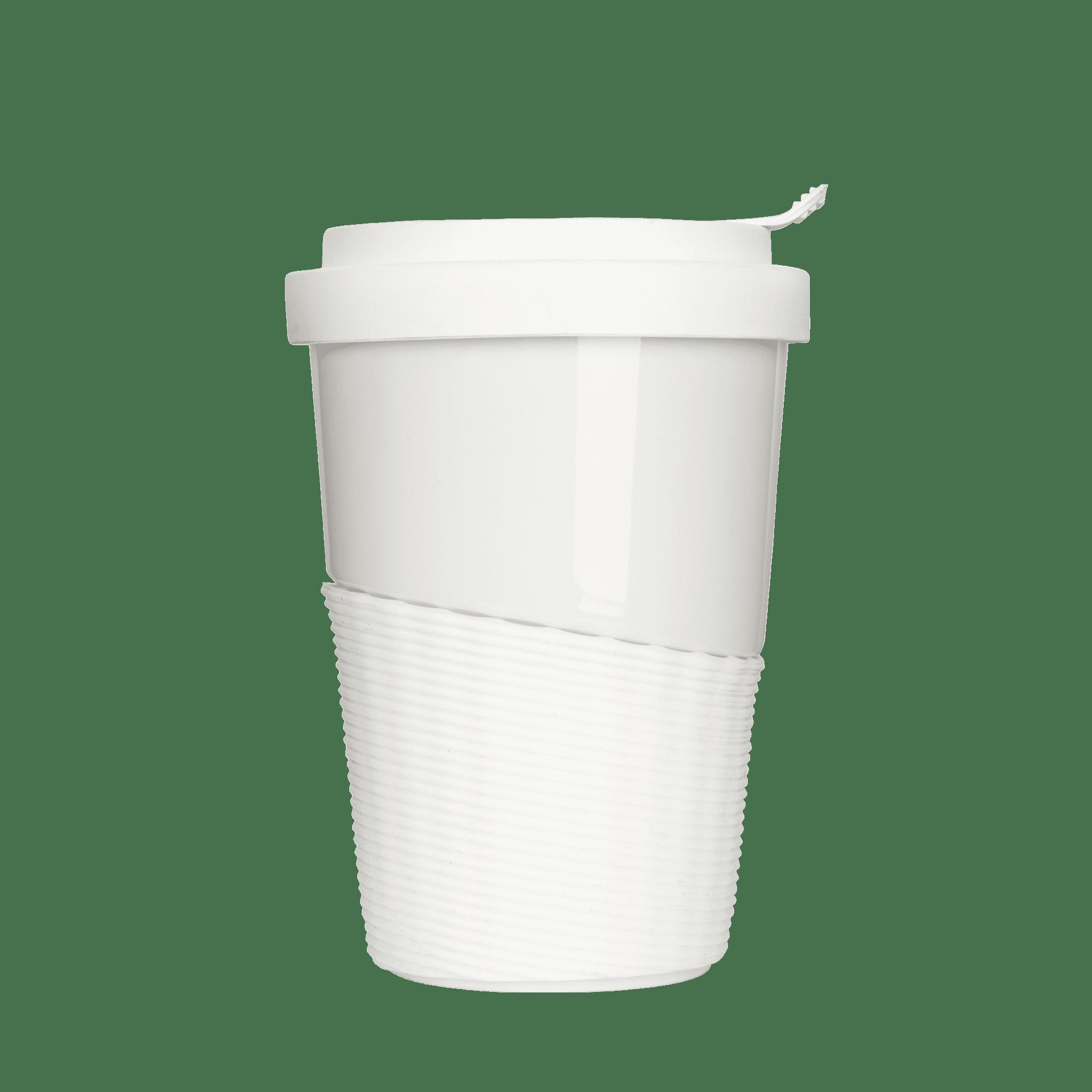 Kaffeebecher mit Deckel aus Porzellan kaufen