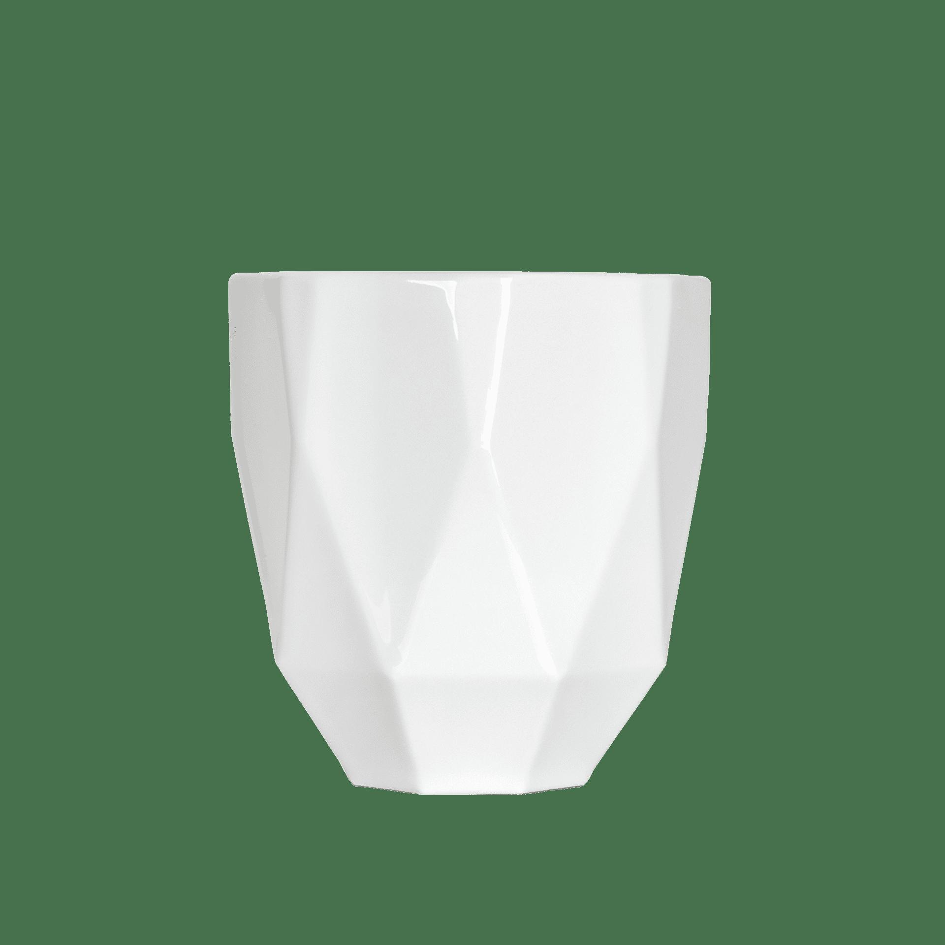 Porzellan Windlicht mit aussergewöhnlicher Form - Mahlwerck Shop
