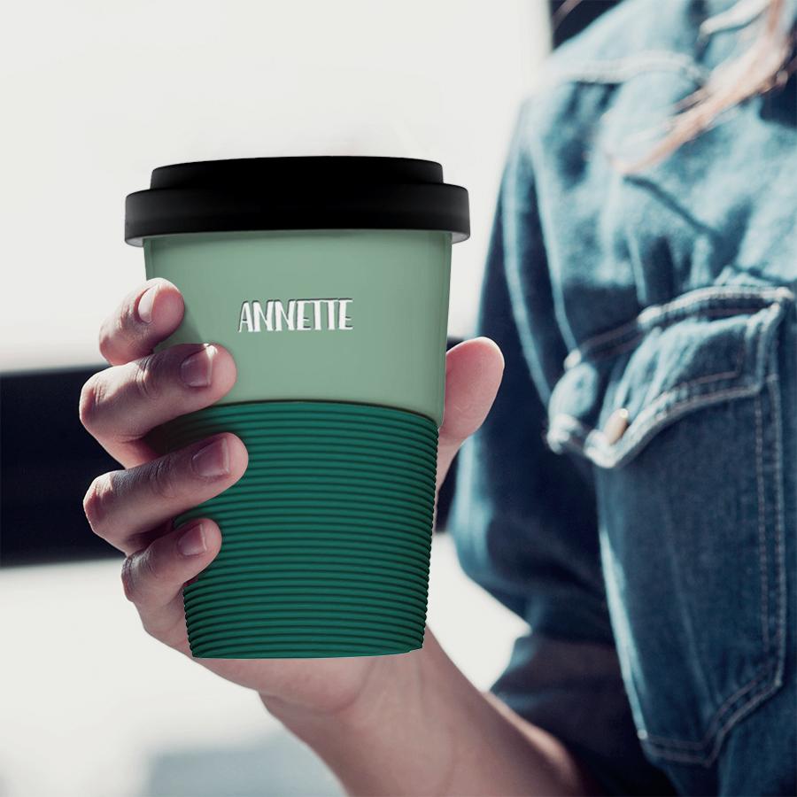 Coffee to go Becher personalisiert