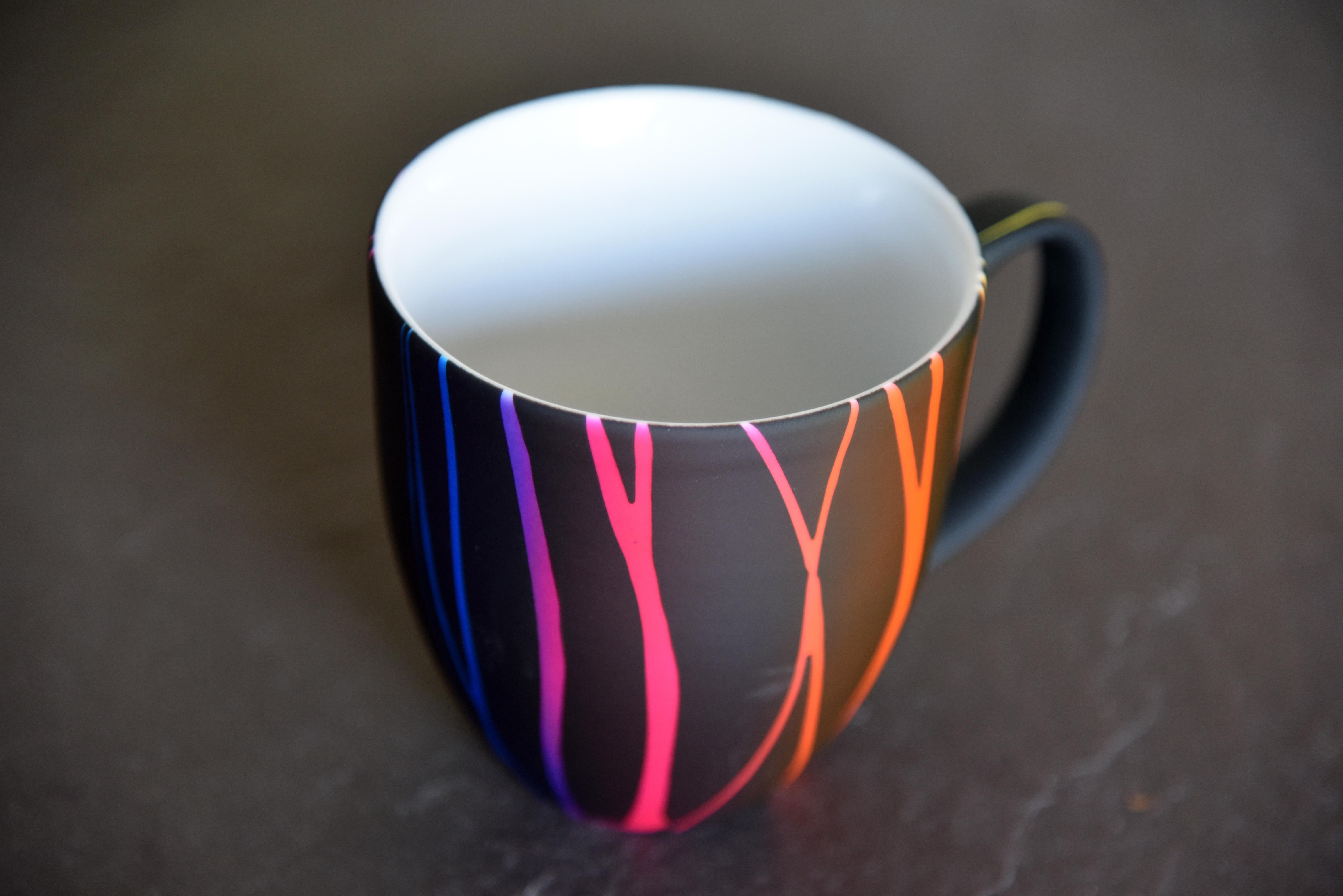 Bunte XXL Kaffeetasse - Mahlwerck Online Shop
