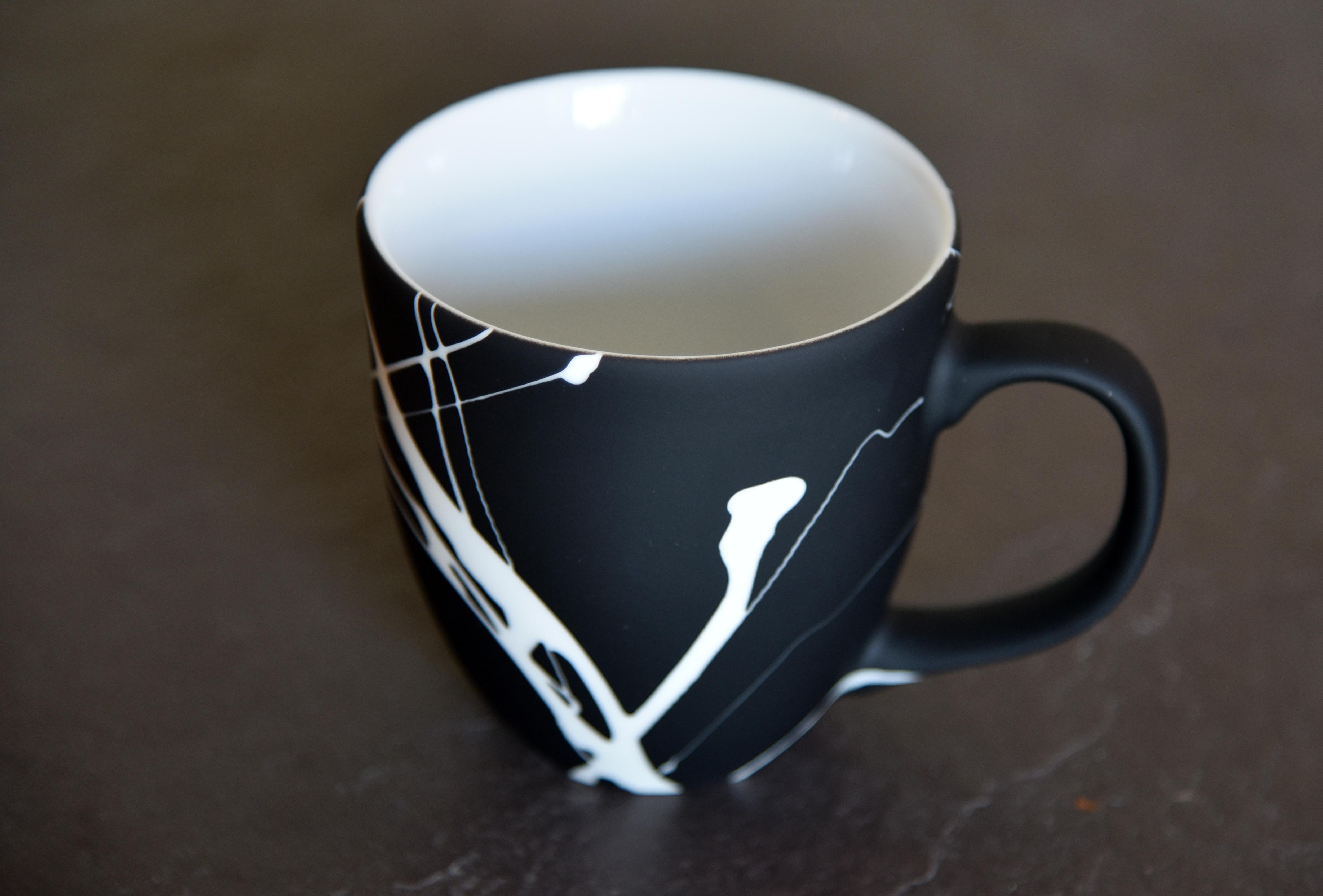 Jumbo Tasse mit Design Aufdruck