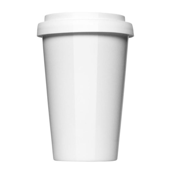 Coffee to Go Thermo zum Bedrucken - Werbeartikel von Mahlwerck Porzellan