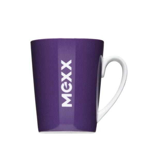 Logotassen für Modemarken bedrucken lassen Mexx - Mahlwerck Porzellan
