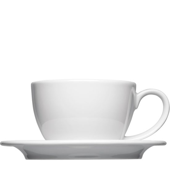 Milchkaffee Tassen zum Bedrucken - Mahlwerck Porzellan
