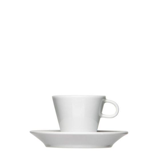 Kleinauflagen bei Espressotassen mit Logo-Gravur - Mahlwerck Porzellan