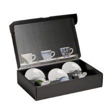 Set of 3 espresso cups, cardboard - Mahlwerck porcelain