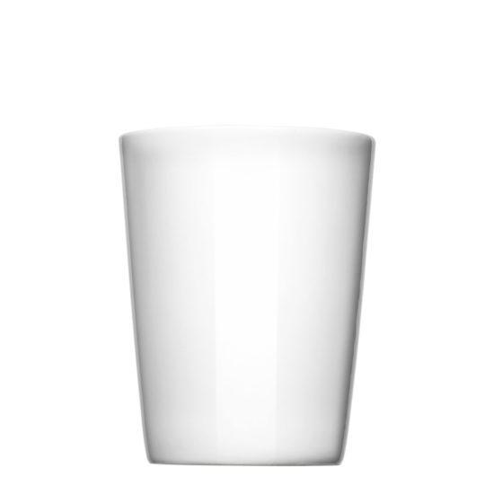 Kaffeebecher gerade zum Bedrucken - Mahlwerck Porzellan Werbeartikel