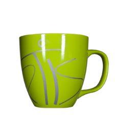 Kaffeetasse mit Pantone-Farben als Werbetasse - Mahlwerck Porzellan