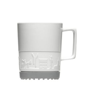 Form 352, Softpad-Mug mit Logo-Gravur und Softpad als Werbeartikel