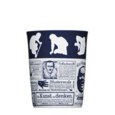 Becher mit Druck und Logogravur - Mahlwerck Porzellan Form 782