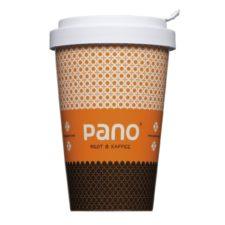 Bedruckter Thermo Coffee to Go Becher mit Firmenlogo - Mahlwerck Porzellan