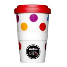 Nachhaltiger Coffee to Go Becher für Lavazza - Mahlwerck Porzellan