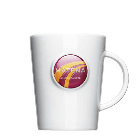 Tasse Doming für Werbung mit Logo - Mahlwerck Porzellan