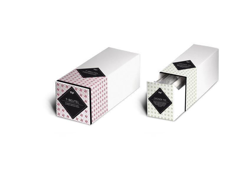 Teebeutel Tea2Go Verpackung