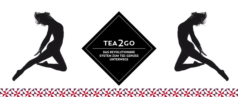 Tea2Go – Teebecher to Go für unterwegs