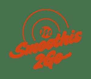 Smoothie2Go das Logo rot in transparenter Version