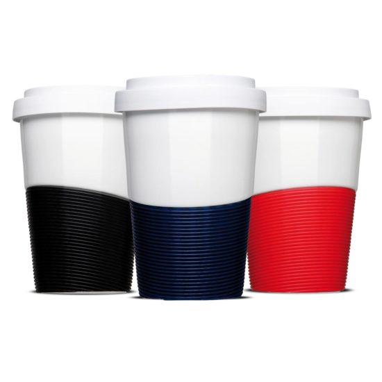 Coffee to Go Wave mit starkem Hitzeschutz - Mahlwerck Porzellan Form 467