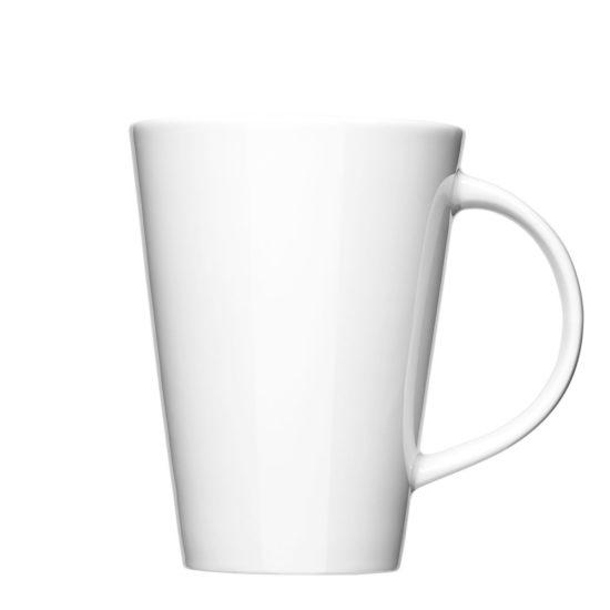 Gerade Kaffeetasse zum Bedrucken - Mahlwerck Porzellan