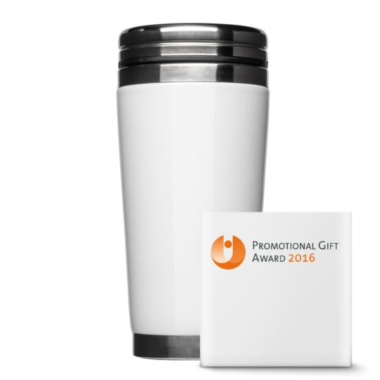 Thermobicher Coffee to Go with steel closure - Mahlwerck porcelain