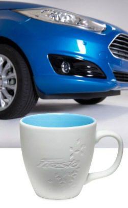Gravur für die Ford Fiesta Tasse aus Porzellan