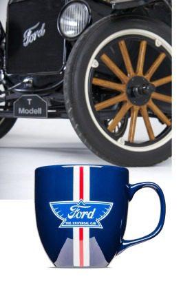 Ford Heritage, zeitlos und klassisch - die Tasse mit Druck