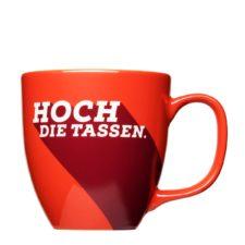 Coffee mug for Kabel1 TV - high the cups - Mahlwerck porcelain