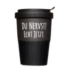 Coffee to Go Becher mit frechen Sprüchen - Mahlwerck Porzellan
