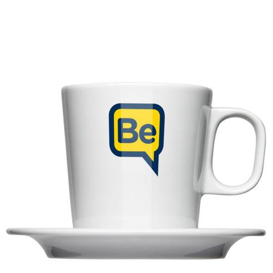 Milchkaffee Tasse für Gastonomie oder Catering - Mahlwerck Porzellan