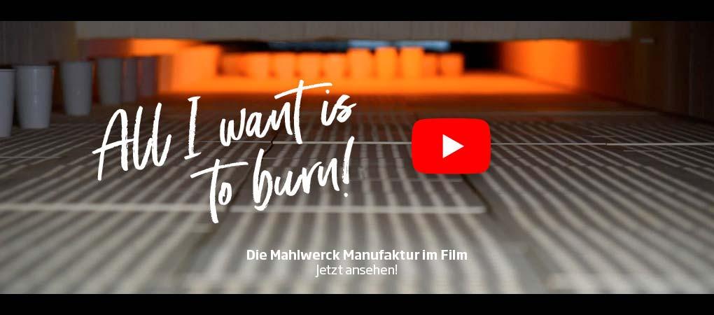 Video - Porzellan Manufaktur Mahlwerck bei der Produktion