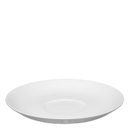 Runde Untertasse für Cafe au lait - Mahlwerck Porzellan