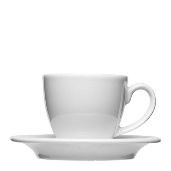 Klassische Cappuccinotasse für Gastonomie zum Bedrucken - Mahlwerck Porzellan