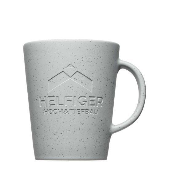 Betonoptik bei Werbeartikeln - Mahlwerck Porzellan Tassen