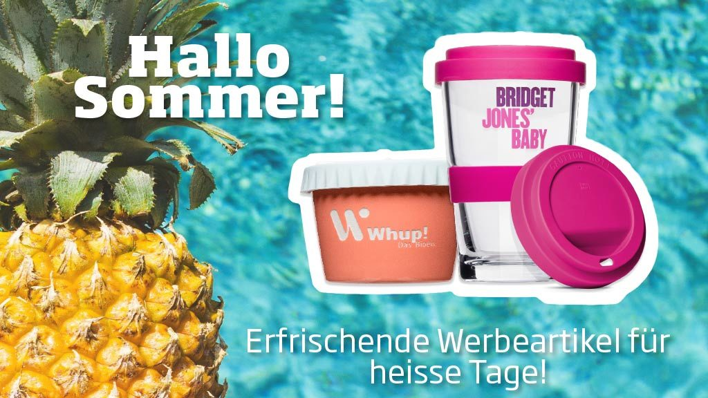 Promotional products for the summer