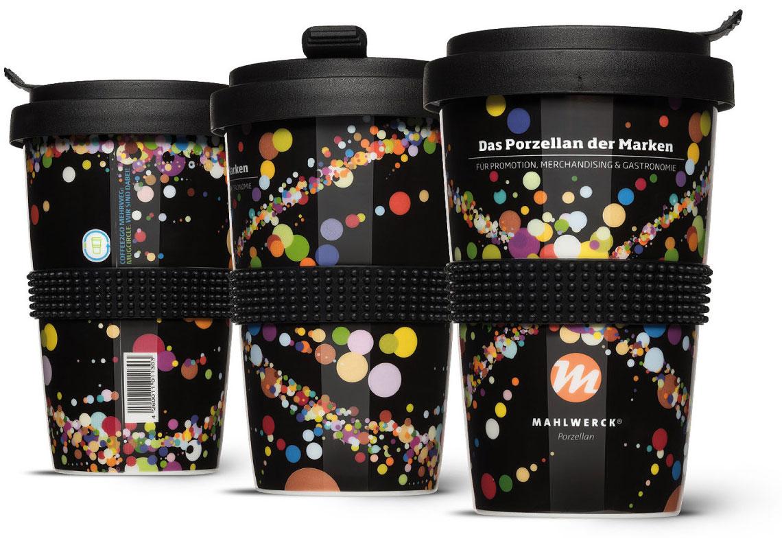 Pfand Coffee-to-Go Mehrwegbecher auf der PSI 2018 von Mahlwerck