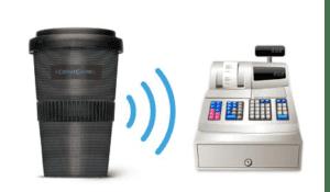 Coffee Cache Kassensystem für Coffee to Go