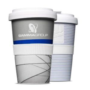 Original Coffee to Go Becher aus Porzellan mit Gravur