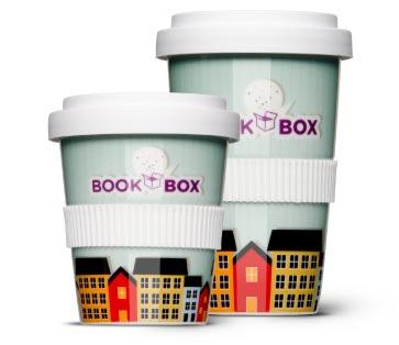 den original Kaffee-to-go Becher aus Porzellan gibt es in groß und klein