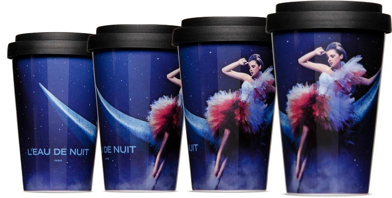 Photo mugs Coffee to go or coffee mug with transfer printing High-level - scratch-resistant Photorealistic printed