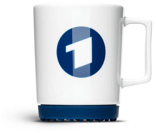 Die Nummer Eins: Design-Tasse zum Bedrucken – Softpad Mug von Mahlwerck Porzellan für die ARD