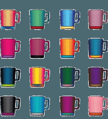 The Art of Branding: Tassen und Becher als Werbeartikel. Die Softpad Mug als Pop Art Star