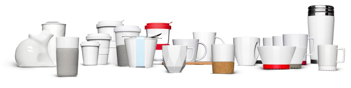 Cups and cups for printing - only available from Mahlwerck