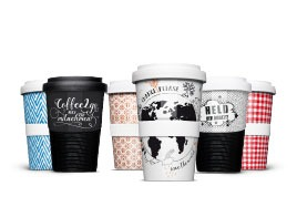 Coffee-to-go cup for-baecker eien