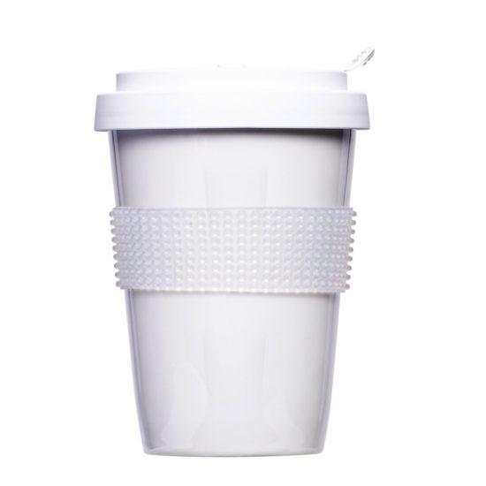 Wiederverwendbarer Coffee to Go Becher zum vollflächigen Bedrucken - Mahlwerck Porzellan