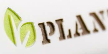 Shape 341-PlantTools coffee mug-colored logo engraving Mahlwerck china