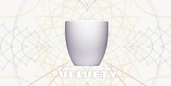 Cup Mug soft-touch rubberized-velvety