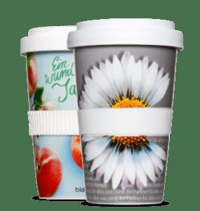 Printed coffee mug To Go - Mahlwerck porcelain