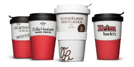 Coffee to Go deposit cup for returnable bakeries