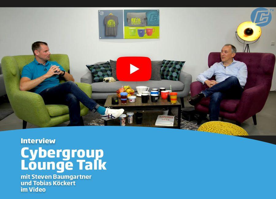 Interview Lounge Talk Cybergroup and Tobias Köckert