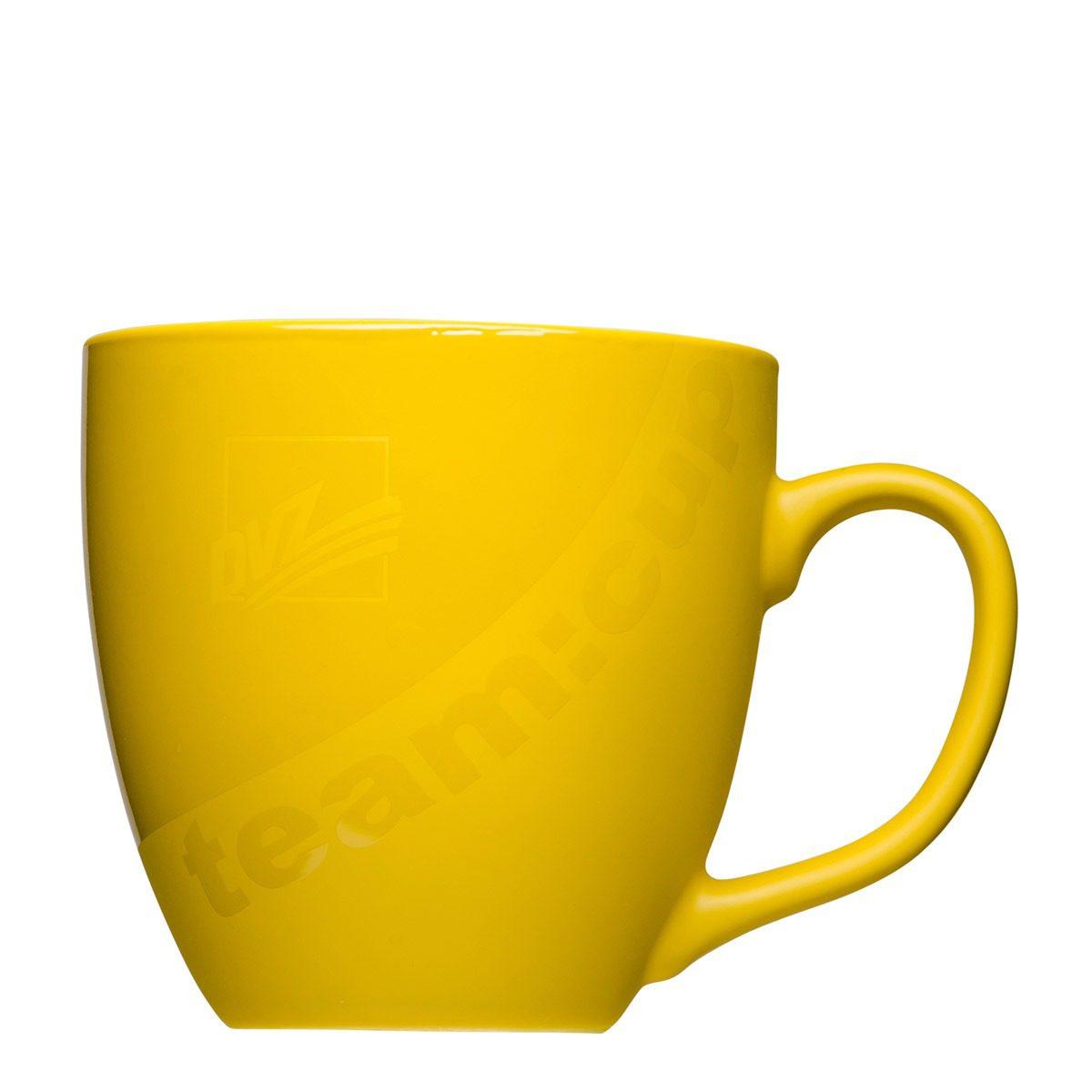 Matt and Glossy coffee cup with light effect Gloss Matt - Mahlwerck porcelain